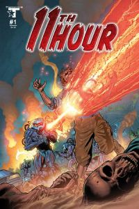 11th Hour cover art by Cliff Richards (Pencils) and Michael Bartolo (Colors)